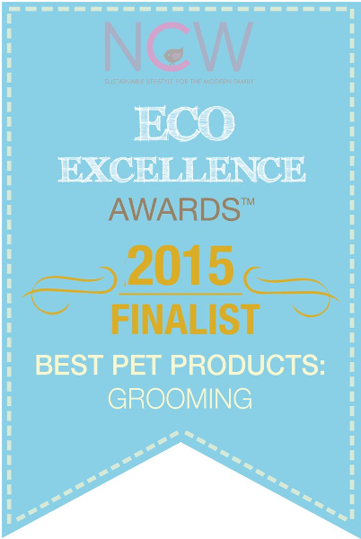 Eco Excellence Awards選定2015年 「全米グルーミング用品賞」ファイナリスト