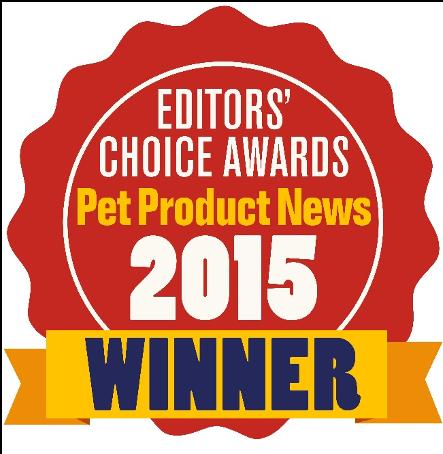 Pet Product News選定2015年「エディターズチョイス賞」受賞製品