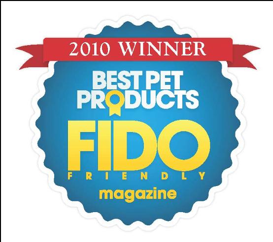 FIDO FRIENDLY誌選定2010年「全米ベストペット商品賞」受賞製品